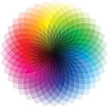Color Wheel CMYK ROYGBIV Rainbow Spectrum Chart Laminated Dry Erase Sign Poster 12x18