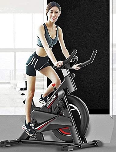 Fitness Bike Spinning Trainer Outdoor Home Attrezzature per il fitness Spinning Wheel Home Mute Indoor All Inclusive Sport Self Bike Smart Game App Gym-Red