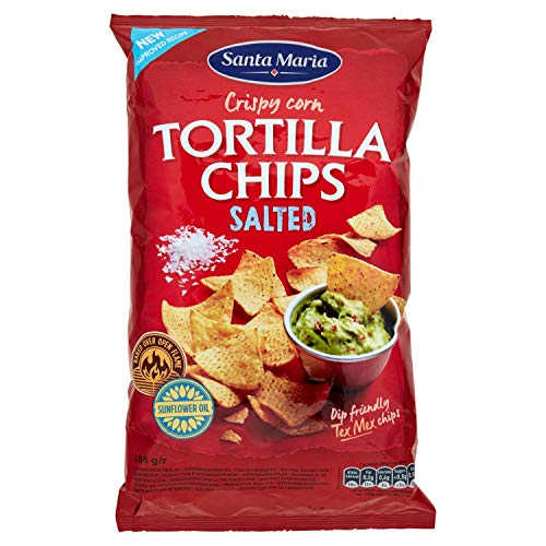 Santa Maria Tortilla Chips Salate, 185g