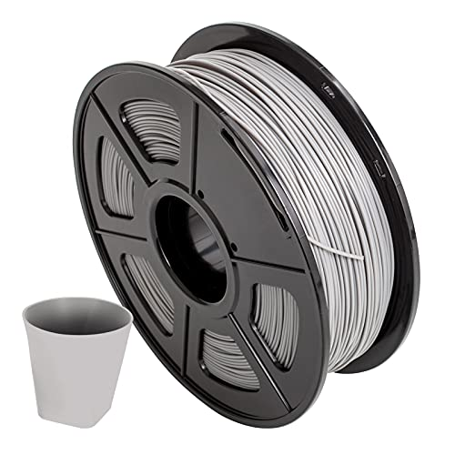 Dounan Pla +,PLA + Filamento de impresora 3D 1,75 mm Precisión dimensional +/- 0,02 mm 1 kg (2,2 lb) Carrete, gris