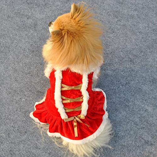strimusimak - Disfraz de Papá Noel, diseño de Papá Noel, color rojo