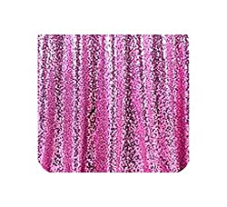 Pink Sequins Tablecloth