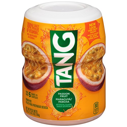 Tang Passion Fruit Powdered Drink Mix (18 oz Canister)