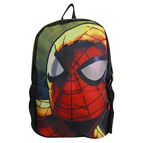 Spiderman 8748-1 Mochila Escolar Porta Laptop 16 Pulgadas Primaria Backpack Casual Infantil Juvenil Ginga