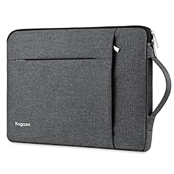 Kogzzen 15-16 Inch Laptop Sleeve Waterproof Shockproof Case Notebook Bag Compatible with MacBook Pro 16/15/ Surface Laptop 15/ Surface Book 2 15 Chromebook Dell HP Lenovo Asus Acer Samsung - Gray