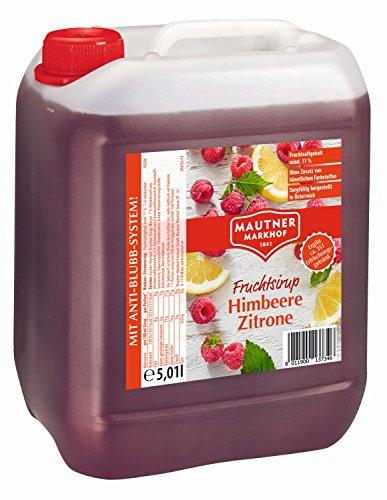 Mautner Markhof Himbeer Zitrone Sirup 5l
