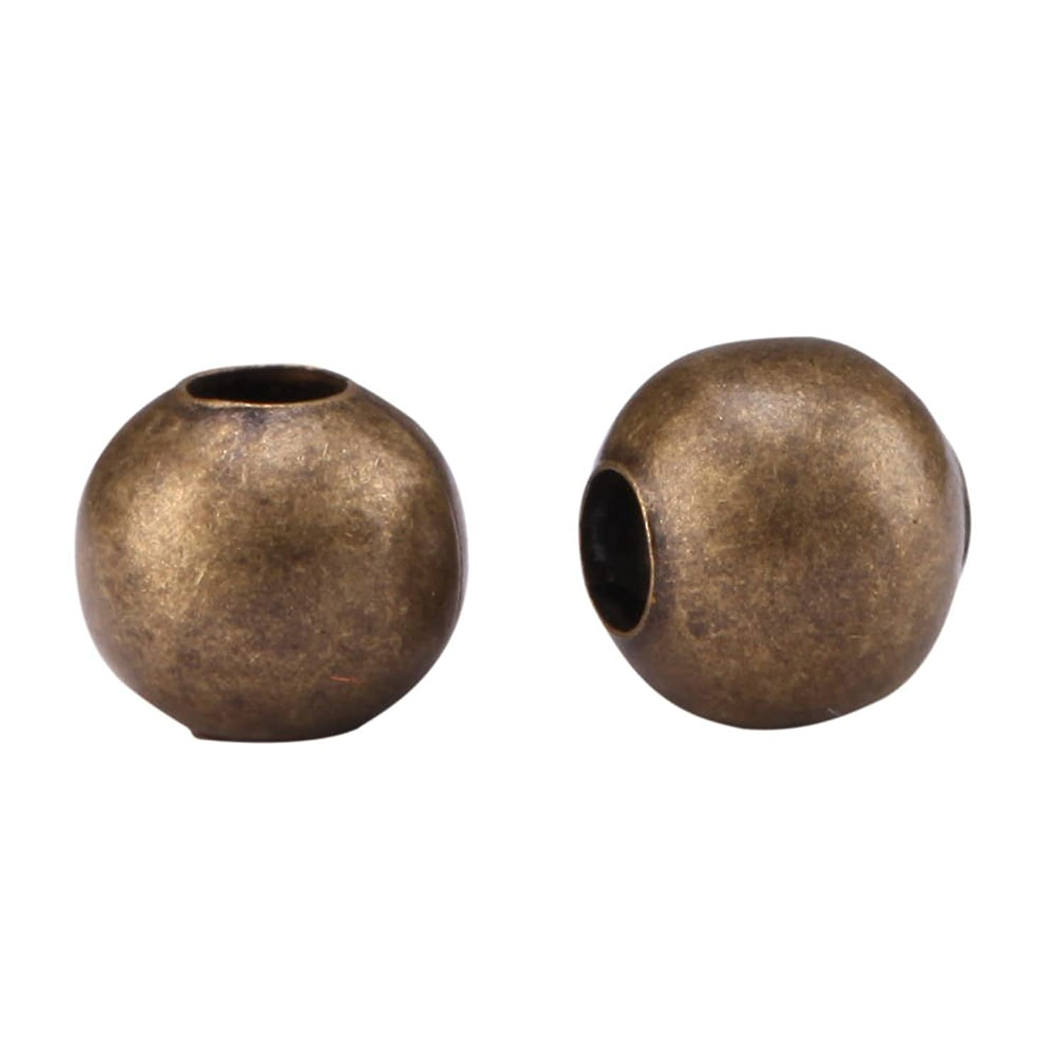 500pcs Top Quality 3mm Small Smooth Antique Bronze Loose Round Spacer Beads (Hole ~1.5mm) for Jewelry Craft Making CF89-3