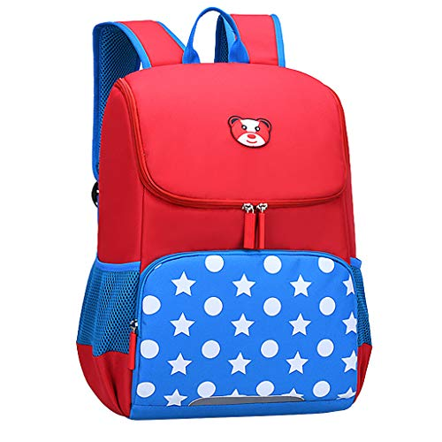 Great Deal! Hopwin Kids Girls Cartoon Backpack | Child Preschool Animal Large Waterproof School Bags...