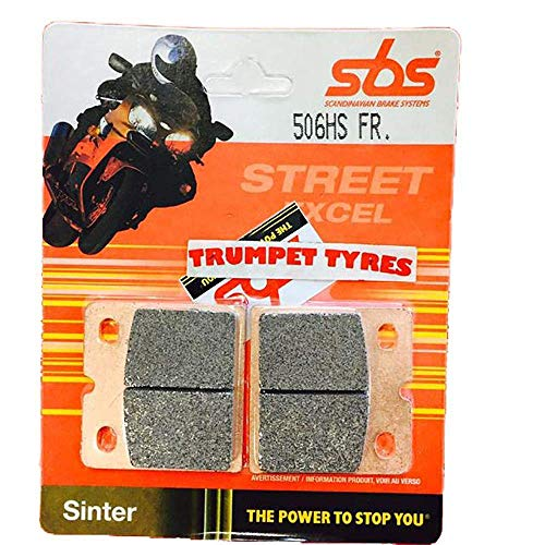 Muz MZ ETZ 250 82 83 84 SBS Performance Front Fast Road Sinter Sintered Brake Pads Set Genuine OE Quality 506HS