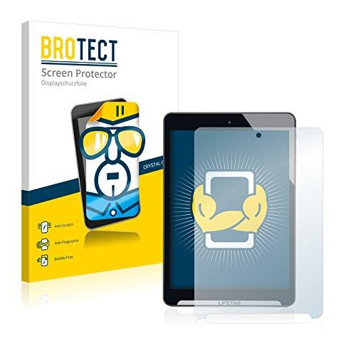 BROTECT Schutzfolie kompatibel mit Medion Lifetab S7852 (MD98625) (2 Stück) klare Bildschirmschutz-Folie