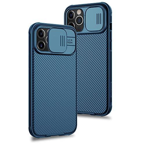 XTCASE Funda para iPhone 12 Pro MAX Protección de la cámara Carcasa...