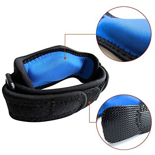 RiptGear Tennis Elbow Brace Brace for Elbow Tendonitis Golfer Elbow and Other Elbow Injuries. Provides Comfortable Compression for Elbow Pain Relief