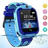 Smartwatch für Kinder Waterproof Telefon Uhr Kinder mit LBS Tracker Kids SmartWatch für 3-12ans...