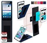 Hülle für Oppo Neo 5s Tasche Cover Case Bumper | Blau |