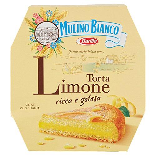 Mulino Bianco Torta Pronta da Gustare con Crema al Limone, per una Merenda Gustosa e Morbida, 620 g