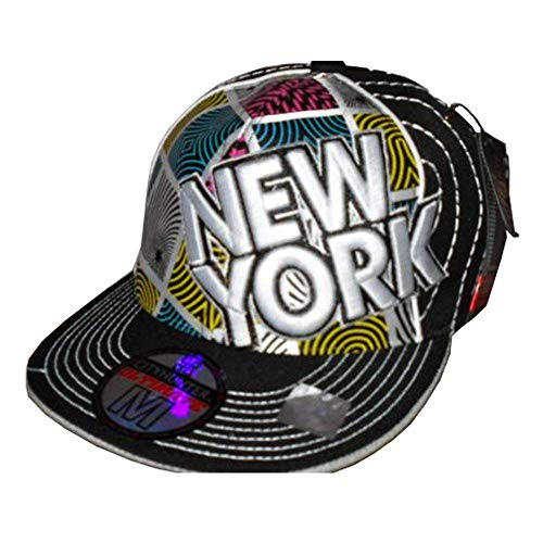 City Hunter - Casquette de Baseball - Homme Multicolore Noir