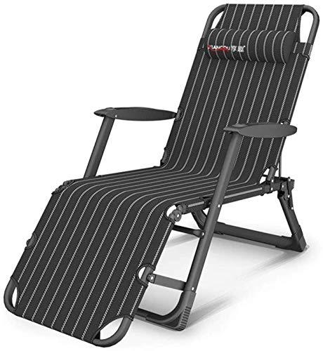 Tumbonas de jardín reclinable y reclinables Silla de tumbona ajustable plegable con tela sintética transpirable Reclinador de hamacas para piscina de playa Pies de camping al aire libre Acero Tetilene