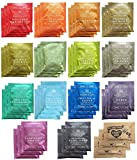 Harney & Sons Assorted Tea Bag Sampler 42 Count With Honey Crystal Packs Great for Birthday, Hostess and Co-worker Gifts