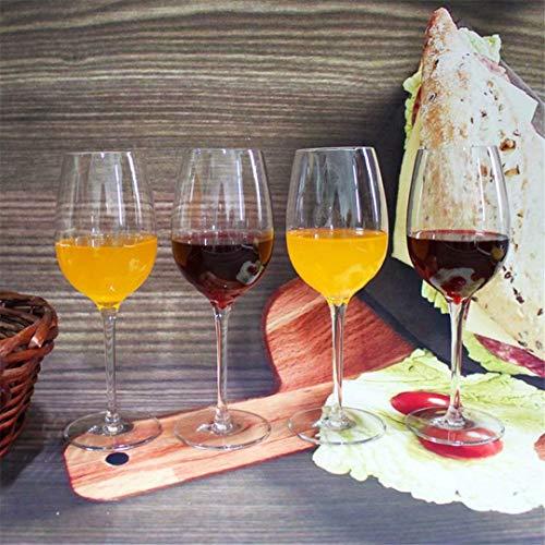 Onbekend transparant loodvrij kristal bourgogne-wijnglas set van 6 De beste keuze voor rode wijn, mondgeblazen, gezond en milieuvriendelijk rodewijnglas. No Brand