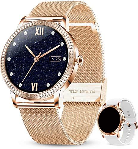 Smartwatch Damen Fitness Armband Uhr |...
