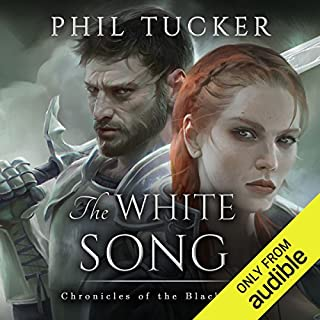 The White Song audiobook cover art