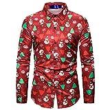 Feytuo Herren Sweatshirt Langarm,Männer Weihnachtspullis Neu Online Mode Pullover...