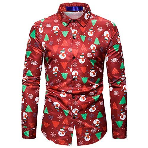 Feytuo Herren Sweatshirt Langarm,Männer Weihnachtspullis Neu Online Mode Pullover Shetland Auf Rechnung Hohem Schicke Bordeaux Modern Baumwollpulli KnöPfen Zipper Pullover Elegant Style