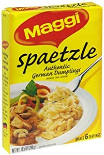 Maggi Spaetzle, 10.5-Ounce Boxes (Pack of 4)