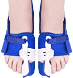 Bunion Corrector, Bunion Splint for Bunion Relief Bunion Big Toe Straightener 2 Pairs 3 Le...