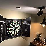 CGC Lampada da soffitto nera singola GU10 regolabile montaggio superficiale LED GU10 compatibile AC220-240V 50/60 Hz GU10 massimo 20W IP20