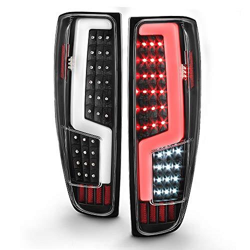ACANII - For 2004-2012 Chevy Colorado GMC Canyon LED Light Tube Full LED Tail Lights Brake Lamps Driver & Passenger Side