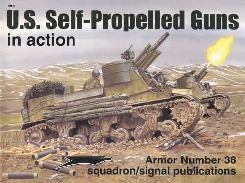 US Self-Propelled Guns in action - Armor No. 38