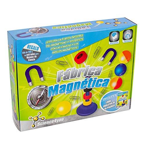 Science4you-Fábrica Magnética, Juguete Educativo y Científico, Multicolor,...