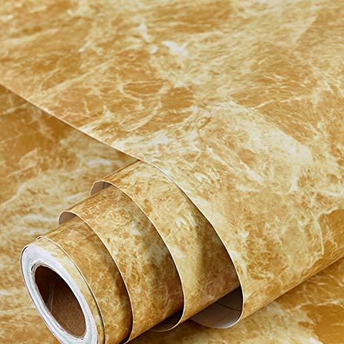 ZTKBG Marmeren contactbehang afneembare folie zelfklevend graniet keukenbar plafond muur achterwand tegels werkblad plankbekleding