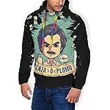 Plata O Plomo Pablo Escobar Narcos - Sudadera con capucha y bolsillos de terciopelo para hombre