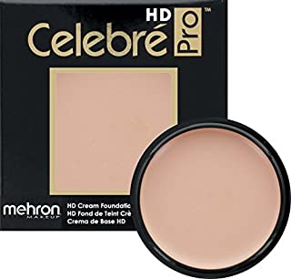 Mehron Makeup Celebre Pro-HD Cream Face & Body Makeup (.9 oz) (MEDIUM MALE)