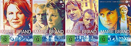 Marie Brand 1-4 (1+2+3+4) Folge 1-24 [DVD Set]