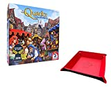 The Quacks of Quedlinburg Board Game. Includes Unique Foldable Playing Piece / Dice Tray Holder Bundled with Game