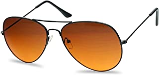 Classic Aviator Sunglasses Metal Frame Color Therapy Tinted Lens Eyeglasses