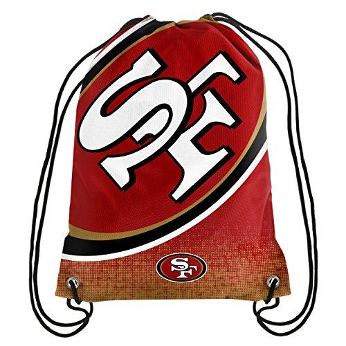 San Francisco 49ers NFL Gradient Drawstring Backpack
