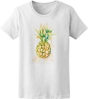 Artsy Pineapple Drawing Tee Women's -Image by Shutterstock