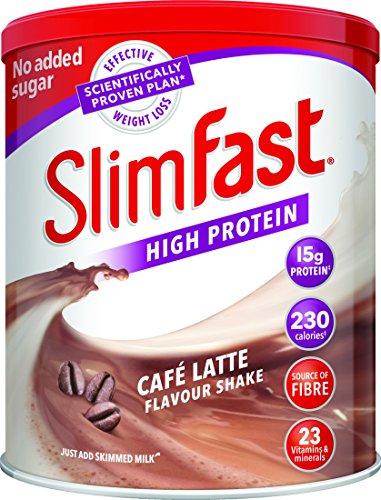 SlimFast, Shake-Puder