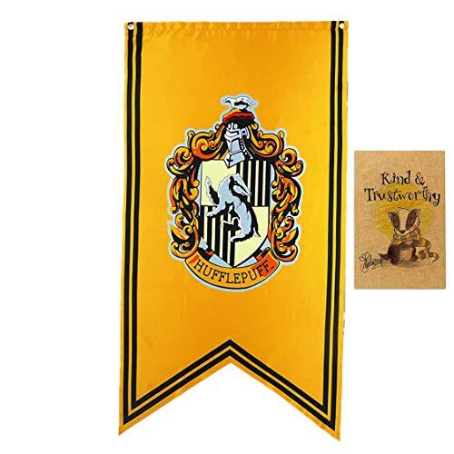 アサヒ飲料 Garden Harry Potter Hogwarts Haus Banner Indoor Outdoor Party Flaggen Gryffindor Slytherin Hufflepuff Ravenclaw Banner