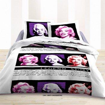 Juego de funda nórdica de 220 x 240 cm y 2 fundas de almohada Marilyn Monroe