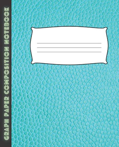 Graph Paper Composition Notebook: 5x5 Grid Paper for Math & Science (7.5 x 9.25)