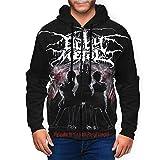 shanximengyama Babymetal Cool Mens Hoodie 3D Printing Pullover Sweatshirt Full Zip Hoodies Jacket