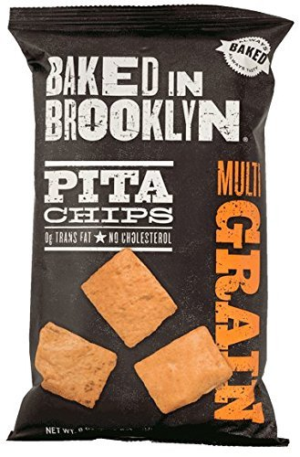Baked in Brooklyn Pita Chips Multigrain of Max 40% OFF Ranking TOP19 Pack Bags 12 8oz.