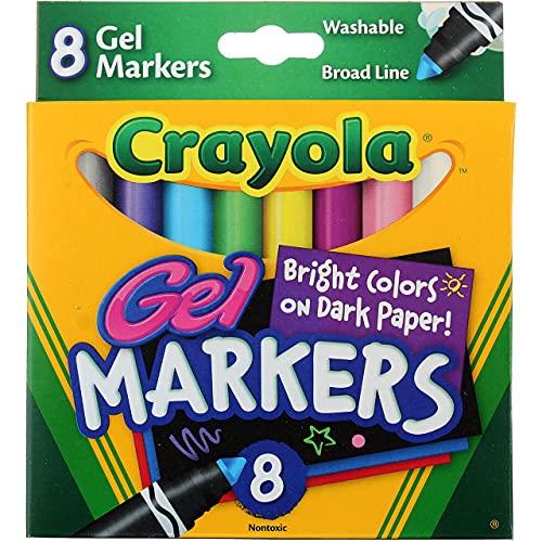 Crayola Bulk Buy Gel FX Washable Markers 8 Pack 58-8163 (3-Pack)