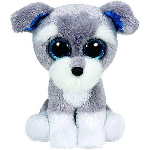 2a48037ebb9 Ty Beanie Boos Whiskers The Grey Schnauzer Dog Plush
