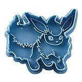 Cuticuter Flareon Pokémon - Taglierina per biscotti, colore: blu, 8 x 7 x 1,5 cm